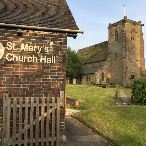 St Mary's church, Swynnerton - ST15 0RA